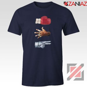 Jordan Music Boxing Navy Blue Tshirt