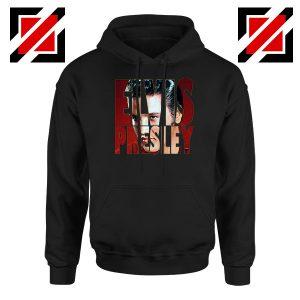 King Of Rock Elvis Presley Black Hoodie