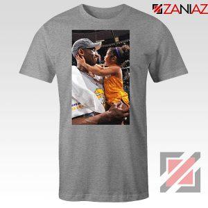 Kobe and Gigi Basketball Champ Family Grey Tees