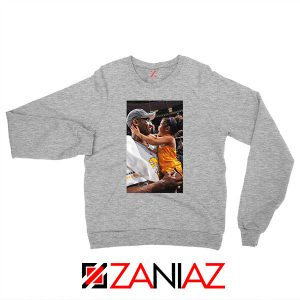 Kobe and Gigi Basketball Champ Grey Sweatshirt