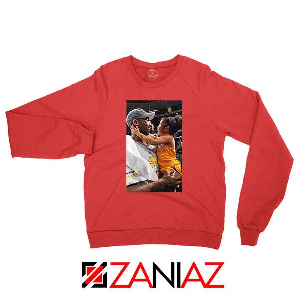 Kobe and Gigi Basketball Champ Red Sweatshirt