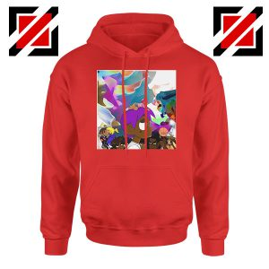 Lil Uzi Vert Lp Cover Best Graphic Red Hoodie
