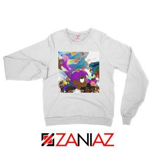 Lil Uzi Vert Lp Cover Graphic White Sweatshirt