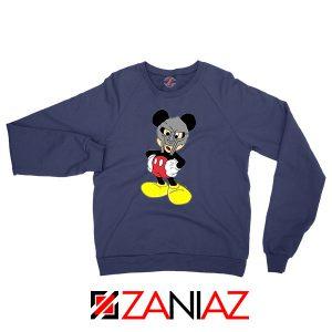 MF Doom Disney Mascot Merch Navy Blue Sweatshirt