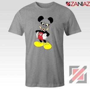 MF Doom Disney Mickey Mouse Graphic Grey Tee