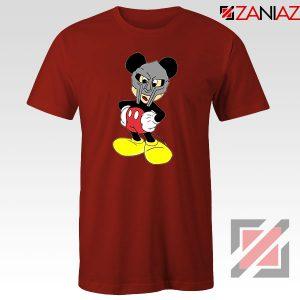 MF Doom Disney Mickey Mouse Graphic Red Tee