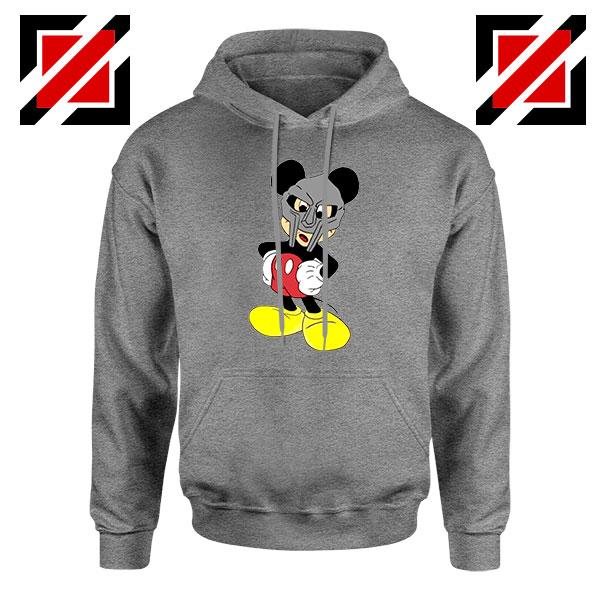 MF Doom Mickey Mascot Best Sport Grey Hoodie