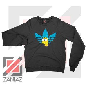 Marge Simpson Adidas Sitcom Black Sweatshirt