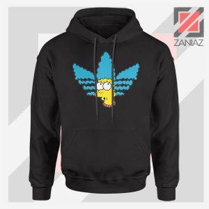 Marge Simpson Sitcom Adidas Black Hoodie