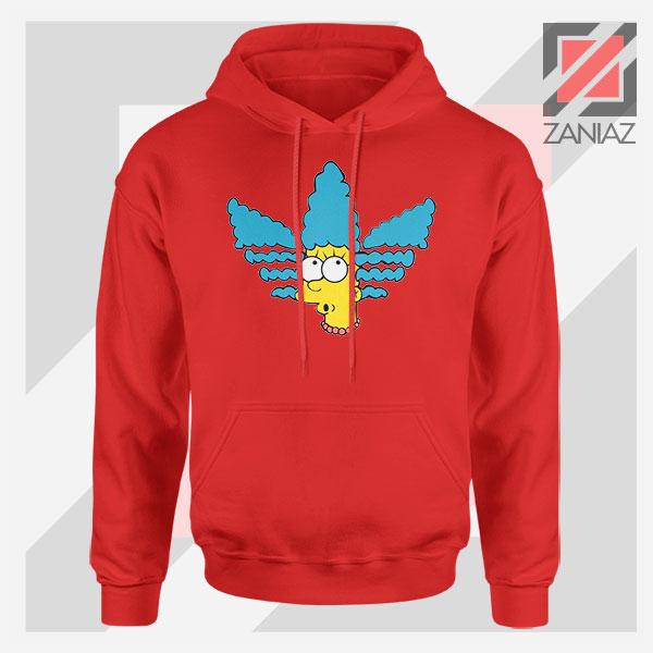 Marge Simpson Sitcom Adidas Red Hoodie