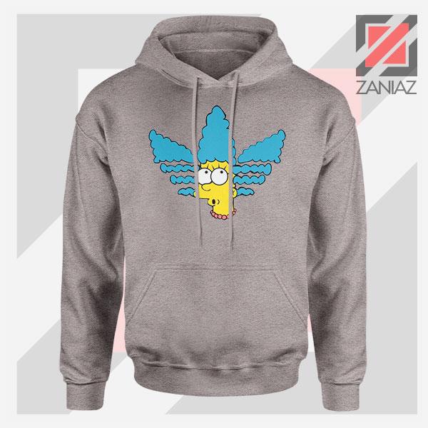 Marge Simpson Sitcom Adidas Sport Grey Hoodie