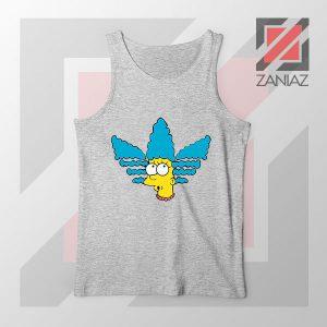 Marge Simpson Sitcom Adidas Sport Grey Tank Top