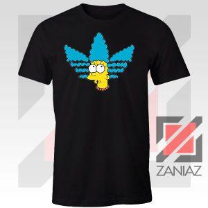 Marge Simpson Sitcom Graphic Black Tshirt