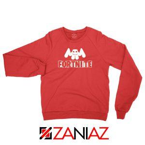 Marshmello DJ Fortnite Gamer Red Sweatshirt