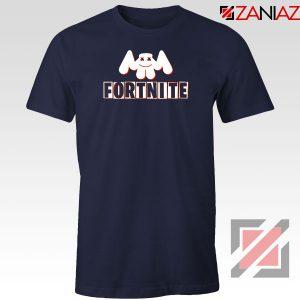 Marshmello Fortnite Gaming Navy Blue Tshirt