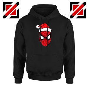 Marvel Spiderman Christmas Black Hoodie