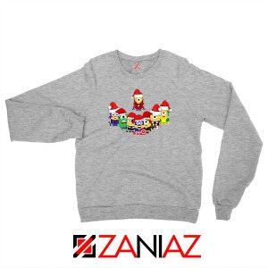 Minions Avenger Christmas Grey Sweatshirt