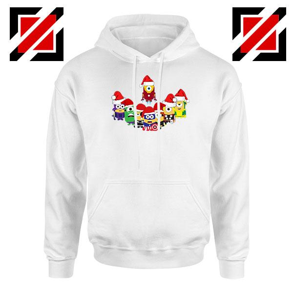 Minions Avenger Christmas Holiday Hoodie