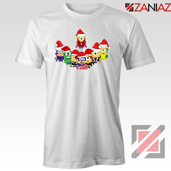 Minions Superheroes Xmas Tshirt