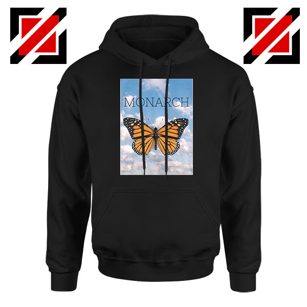 Monarch Butterfly Graphic Animal Hoodie