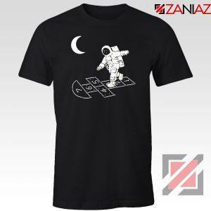 Moon and Astronaut Playing Tshirt