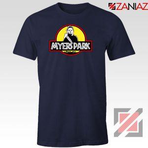 Myers Park Halloween Jurassic Park Navy Blue Tshirt