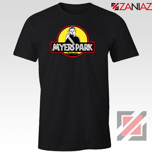 Myers Park Halloween Jurassic Park Tshirt