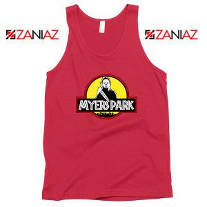 Myers Park Halloween Red Tank Top