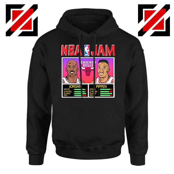 NBA Player Basketball Duo Jam Black Hoodie