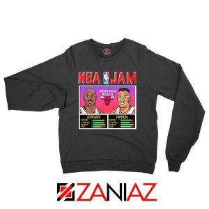 NBA Player Basketball Duo Jam Black Sweatshirt