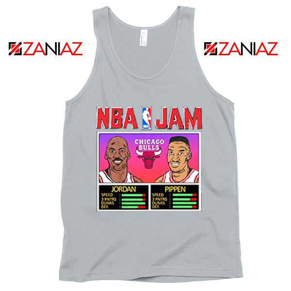 NBA Player Basketball Duo Jam Grey Tank Top