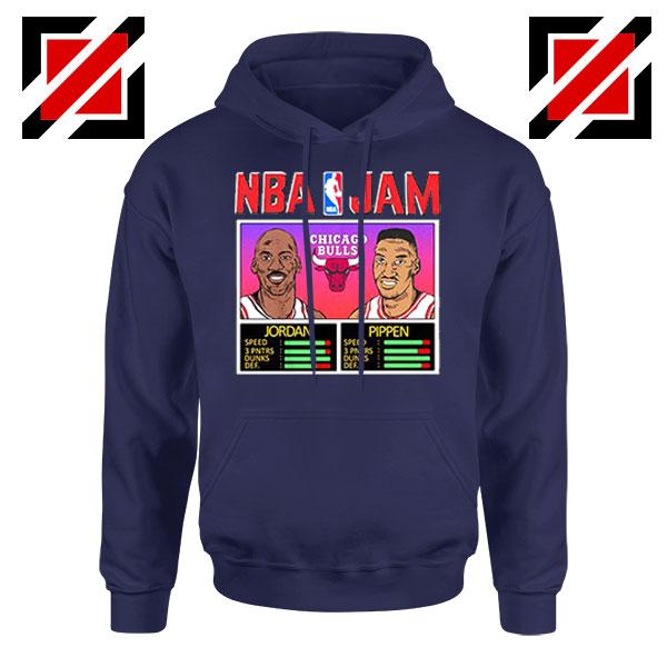 NBA Player Basketball Duo Jam Navy Blue Hoodie