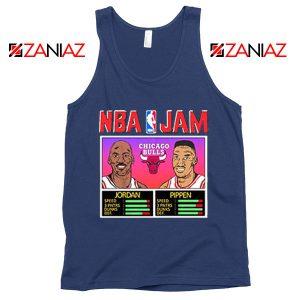 NBA Player Basketball Duo Jam Navy Blue Tank Top