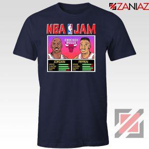 NBA Player Basketball Duo Jam Navy Blue Tshirt