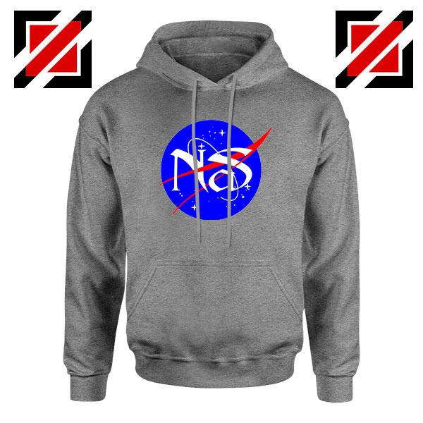 Nas Escobar Queens NASA Grey Hoodie