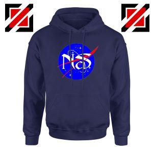 Nas Escobar Queens NASA Navy Blue Hoodie