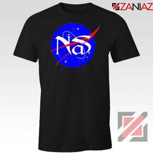 Nas Queens NASA Rapper Black Tshirt