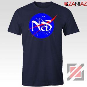 Nas Queens NASA Rapper Navy Blue Tshirt