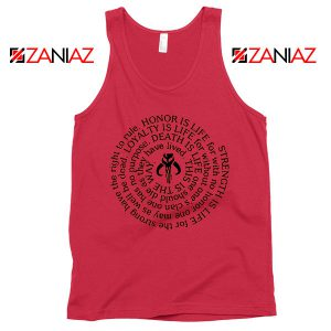 Neo Crusaders Symbol Best Quote Red Tank Top