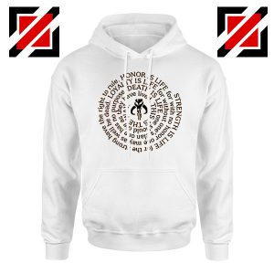 Neo Crusaders Symbol Quote Graphic Hoodie
