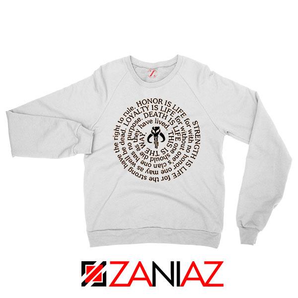 Neo Crusaders Symbol Quote Sweatshirt