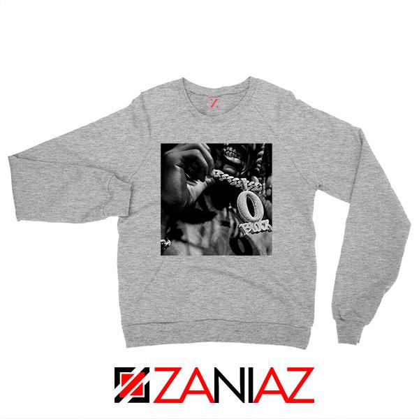 O Block Rip King Von OTF Grey Sweater