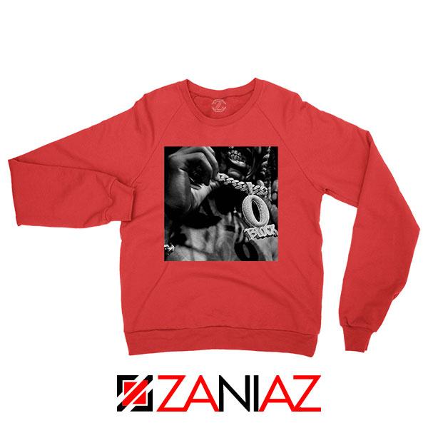 O Block Rip King Von OTF Red Sweater