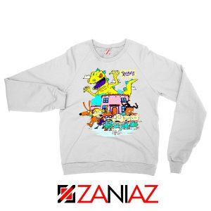 Rugrats Kids Run From Reptar Sweatshirt
