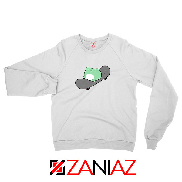 Skateboard Frog Brand Parody Sweatshirt