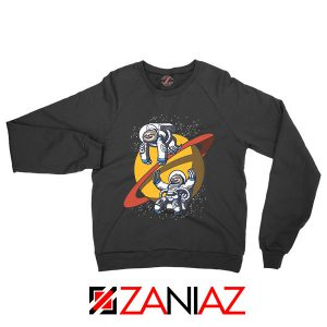 Sloth Lazy Astronauts Graphic Sweatshirt