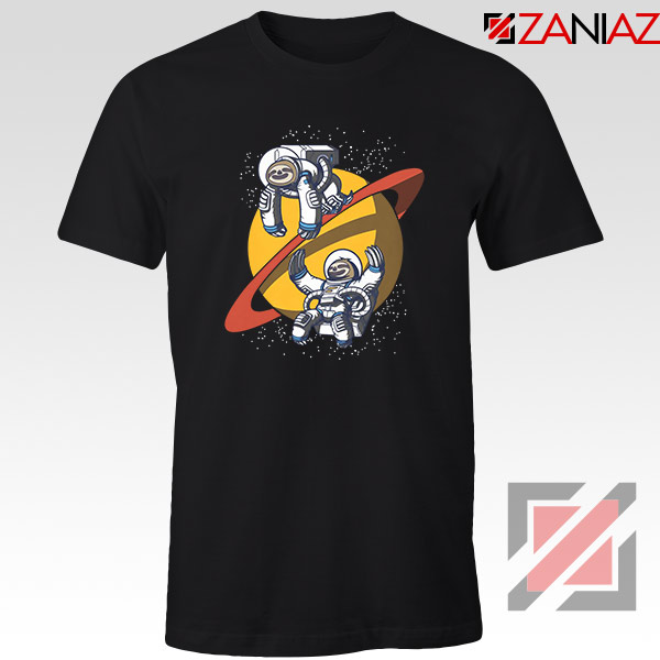 Sloth Lazy Astronauts Graphic Tee