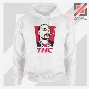 Snoop Dogg THC Smoke Best White Hoodie