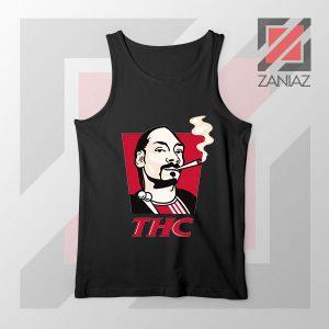 Snoop Dogg THC Smoke Graphic Tank Top