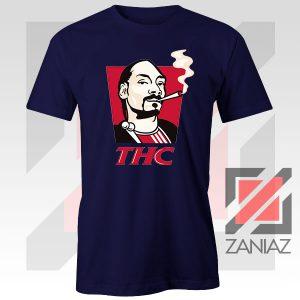 Snoop Dogg THC Smoke Vintage Navy Blue Tshirt